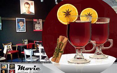 2 svařáky v centru Prahy za 39 Kč! S sebou nebo přímo v Moviecoffee&club!
