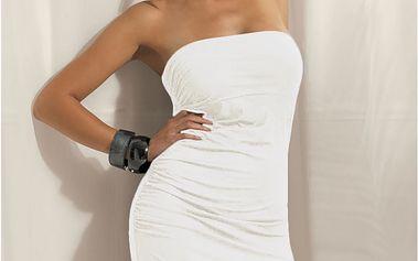 Dámské luxusní šaty M847 bez ramínek