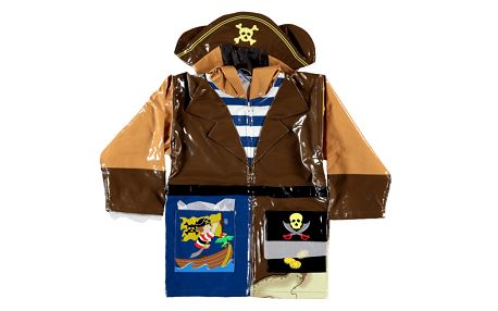 Originální pláštěnka pirát