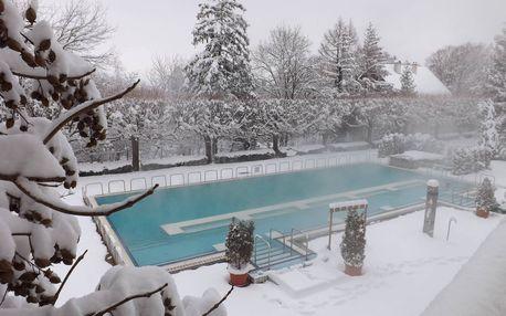 Zažite rozmaznávanie počas zimy v Maďarsku v hoteli Aquamarin pre 2 osoby s polpenziou len za 99 €