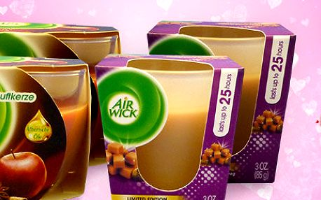 Romantika se svíčkami Airwick