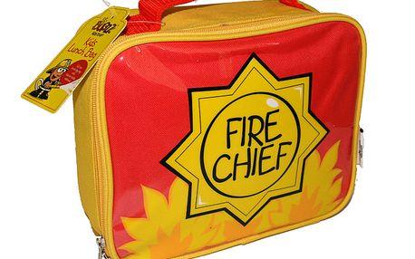 Taštička na svačinu hasiči nesmí nikomu chybět