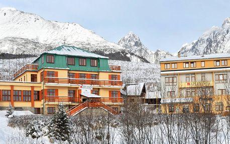 Lyžovačka vo Vysokých Tatrách s ubytovaním v apartmánoch Mountain Resort s raňajkami pre 2 osoby so saunou len za 109 €