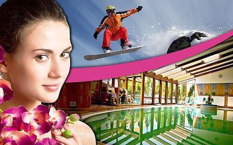 Slovenský Zvolen a špičkový wellness přímo u sjezdovky. Sauna, vířivka, masáže a vnitřní bazén s neomezeným vstupem. Užívejte si relaxaci v příjemném hotelu Kráľová s vlastní sjezdovkou! Zimní pohoda na Slovensku!
