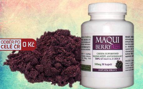 Maqui Berry Fresh za 199 Kč! 50 kapslí pro lepší imunitu a štíhlejší figuru!