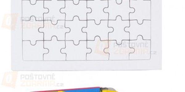 Kreslící puzzle s pastelkami a poštovné ZDARMA s dodáním do 3 dnů! - 14506702