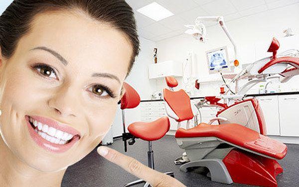 Dentální hygiena s možností fluoridace a RTG