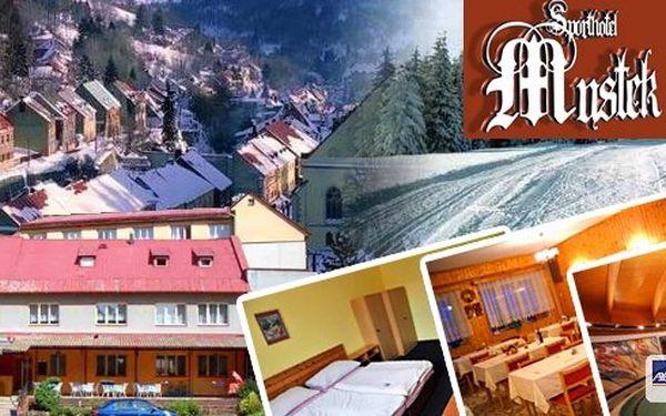 Víkendové ubytování v Krušných horách pro 1 osobu na 3 dny s polopenzí. Vyrazte si zalyžovat za pár korun do Krušných hor. Po náročném dnu Vás vždy pohostí odpolední kávičkou s domácím moučníkem.