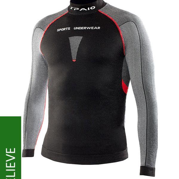 Unisex triko Relieve line - dlouhý rukáv pro celoroční sportovní či outdoorové aktivity