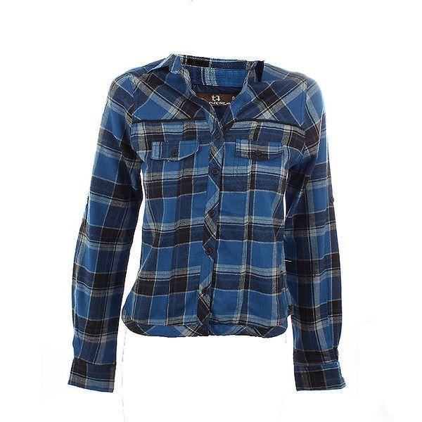 Dámská modrá kostkovaná košile Tantra