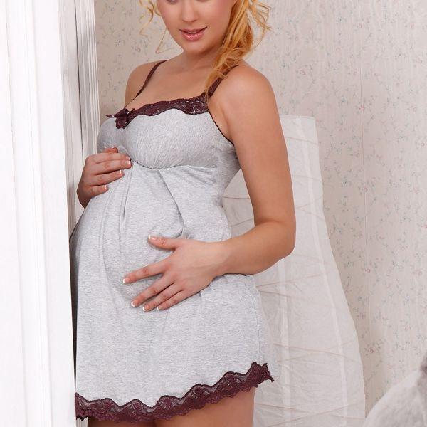 Mateřská košilka Mama Rene bez kostic pro snadné kojení