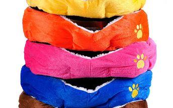Pelíšek pro domácí mazlíčky - 2 velikosti, 5 barev a poštovné ZDARMA! - 4007690