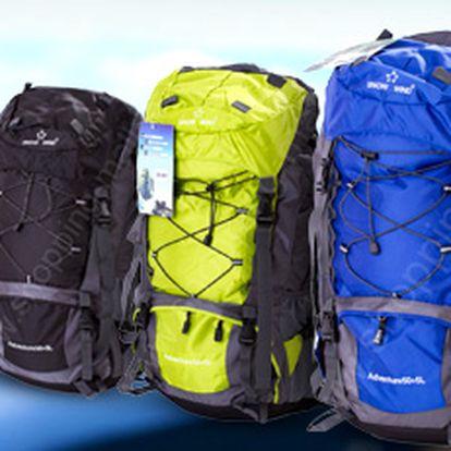 55l batoh Snow Wind: na cestování, trekking i náročné expedice!