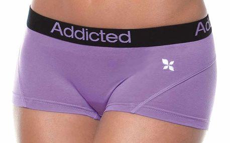 Boxerky Addicted fialové