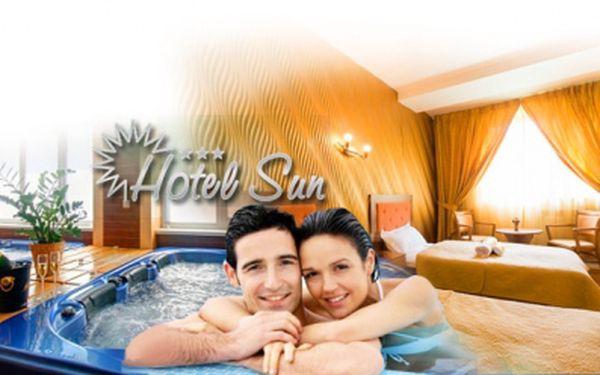 Romantický WELLNESS pobyt u Slunečních jezer - Senec! 3 DNY PRO DVA v luxusním pokoji, s bohatou POLOPENZÍ, WELLNESS a AQUAPARKEM za 3299 Kč v Hotelu Sun***! Odpočiňte si v romantickém prostředí, kousek od českých hranic! Sleva 64%!