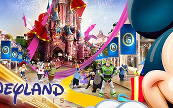 Výlet do Disneylandu® ve Francii: neopakovatelný zážitek pro malé i velké!