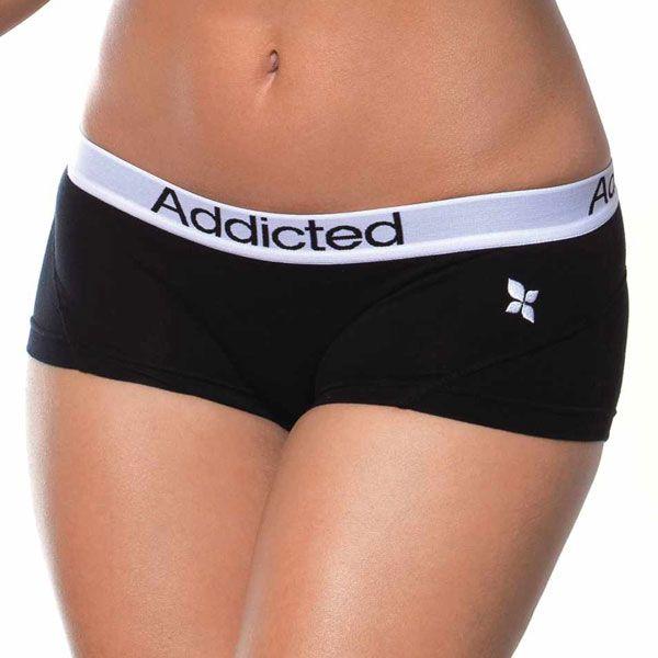 Boxerky Addicted černé