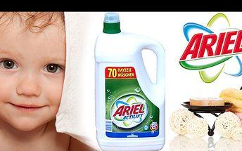 Prací gel Ariel Actilift univerzal - perfektně voní a poskytuje vynikající výsledky v ohledu odstraňování i těch nejodolnějších skvrn nyní za neuvěřitelnou cenu 279 Kč!