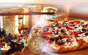 Dokonalá křupavá PIZZA z čerstvých surovin jen za 69 Kč! Restaurant AL MULINO kam chodí i známé osobnosti! Čerstvá pizza přímo z pece jen pro Vás! Sleva 63%!