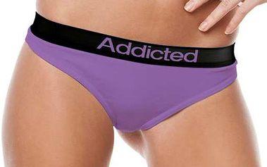 Tanga Addicted fialová