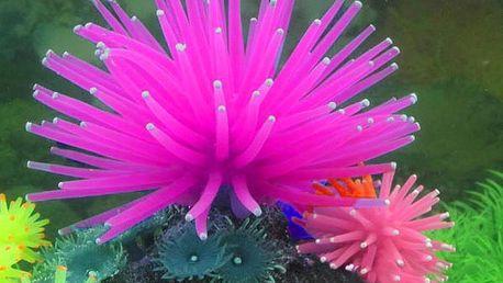Dekorace do akvária - silikonový korál a poštovné ZDARMA! - 4607758