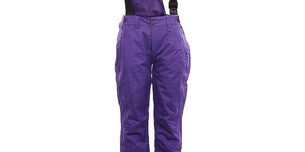 Dámské fialové zimní kalhoty Fundango