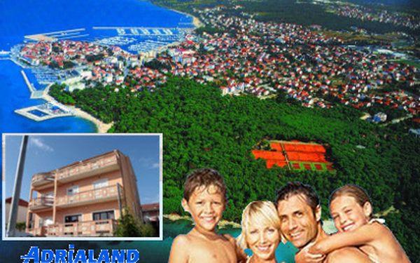 Chorvatsko na týden od 3990 Kč! S plnou penzí a autobusem!