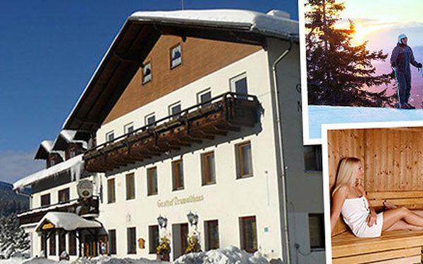 Bohatý lyžařský pobyt na Šumavě
