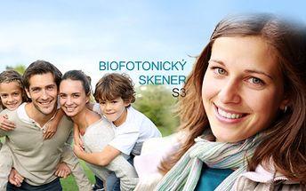 Zjistěte, jak na tom vaše zdraví a imunita je? Revoluční vyšetření biofotonickým skenerem karotenoidních antioxidantů v těle za bezkonkurenční cenu 99 kč!