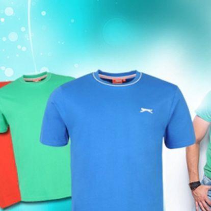 Pohodlné pánské tričko značky Slazenger za pouhých 99 Kč! Ideální pro volný čas, sport, perfektní k džínům! Vyberte si z mnoha barev a zjistěte, že v jednoduchosti je krása!