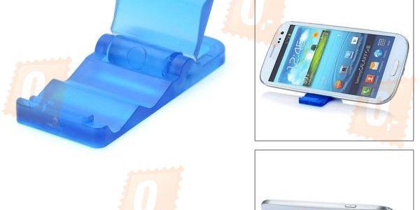 Skládací stojánek na telefon - 4 barvy a poštovné ZDARMA! - 3907755