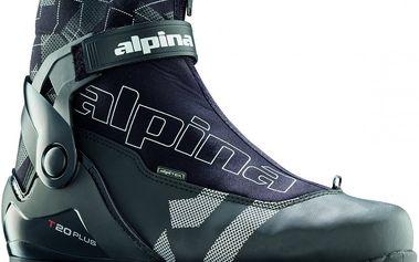 Běžkařské boty Alpina T 20 Plus Black/Silver