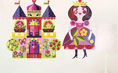 Tapetky - princezna a zámek
