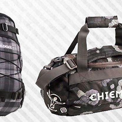 Značková taška a batoh Chiemsee nejen do školy
