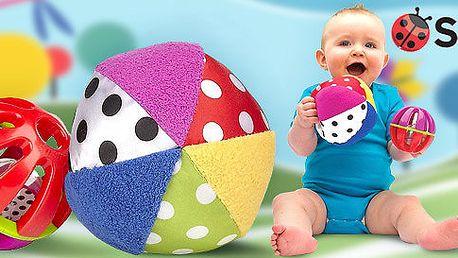 Dětské vývojové hračky Sassy - míčky