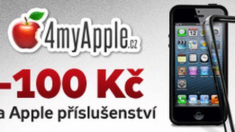 Sleva 100 Kč při nákupu nad 499 Kč v eshopu 4myApple.cz