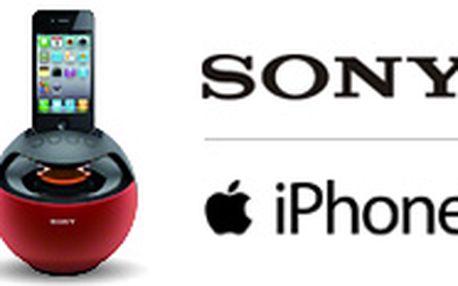 Sony reproduktor pro iPhone či iPod se slevou