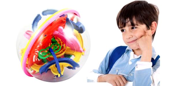 Perfektní hlavolam zabaví na dlouhé hodiny děti i dospělé. Zlepšete si představivost v prostoru a současně i koordinaci a motoriku.