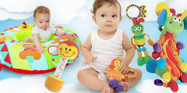 Interaktivní hračky Jolly Baby pro nejmenší