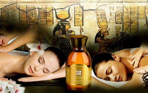 Báječný Rituál Pharaon - vysoce harmonizující egyptská masáž celého těla. Užijte si 100 minut úžasné relaxace!