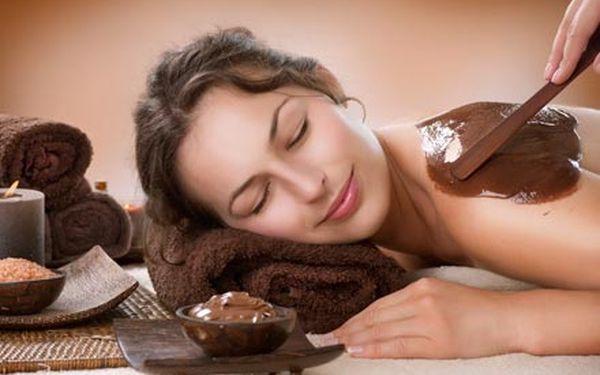 Valentýnská nabídka 70 minutové čokoládové wellnes...