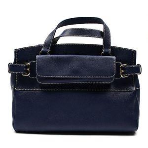 Dámská modrá kabelka s kapsičkou Acosta