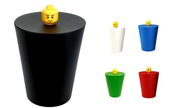 LEGO odpadkový koš (více barev)