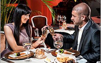 Romantická večeře pro dva