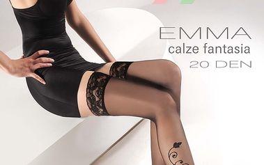 Samodržící punčochy Emma 15 DEN
