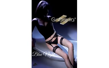 Komplet s podvazkovým pásem Blue Night
