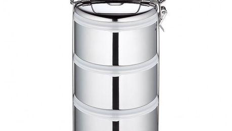 Küchenprofi nerezový nosič na jídlo, 3dílný