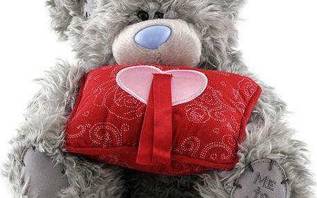 Medvídek Me to You Medvídek 18cm s polštářkem na prstýnek