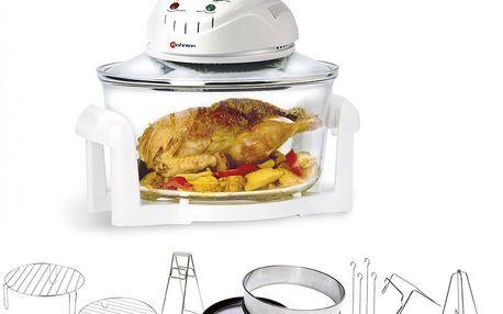 Multifunkční horkovzdušný hrnec ROHNSON R 297 - smažení, pečení, grilování, vaření v páře, dušení a rozmrazování