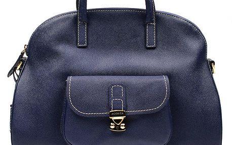 Dámská tmavomodrá kabelka s kapsičkou Acosta